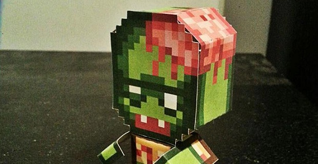 Infectonator Zombie Papercraft