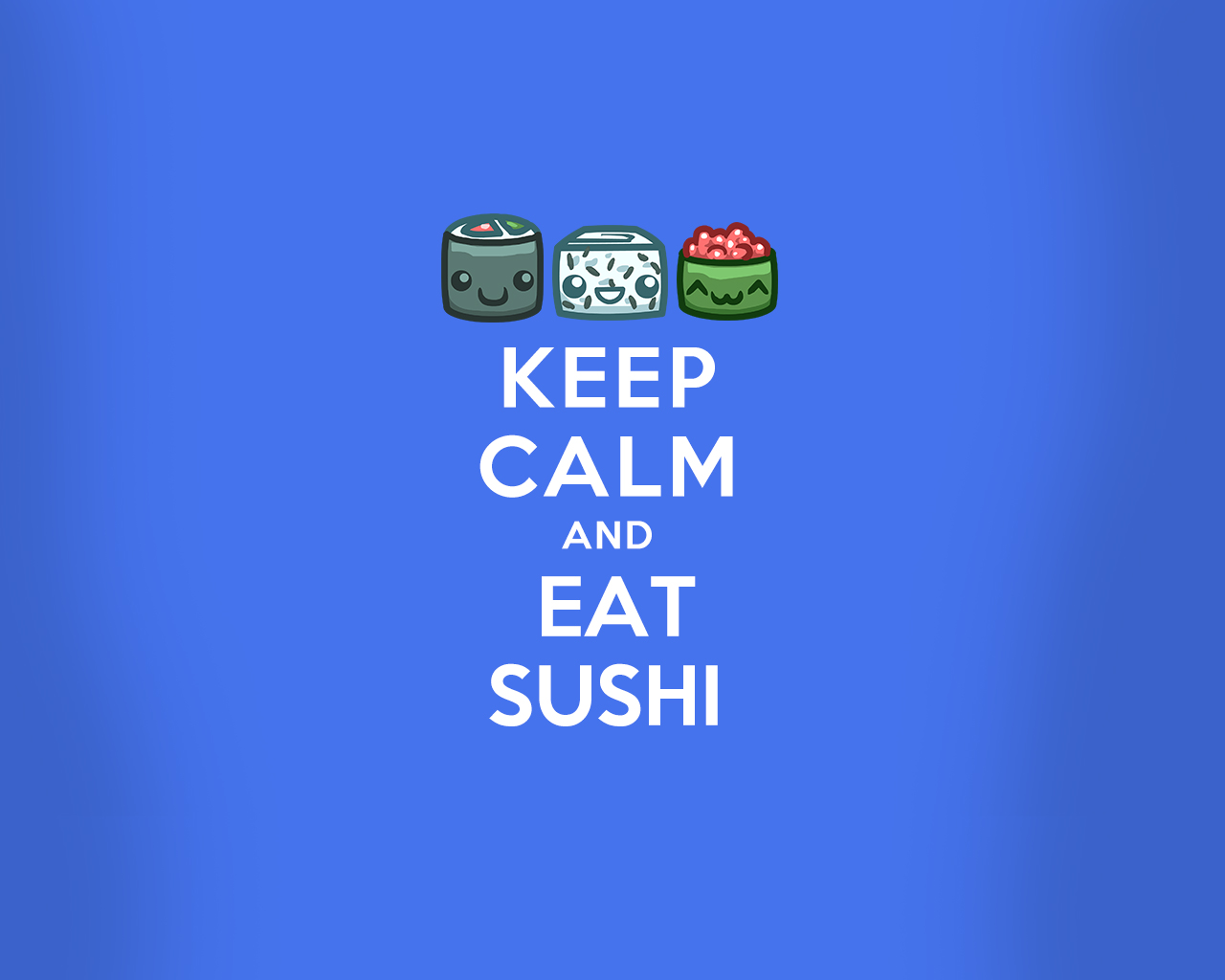 Sushi Cat Wallpaper