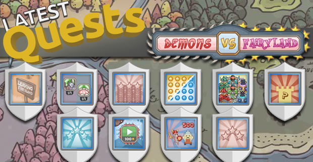 Demons vs Fairyland Quests
