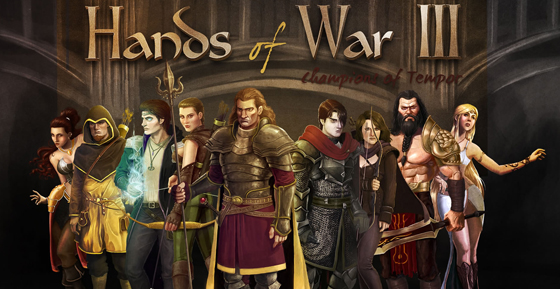 Hands of War 3 Launched