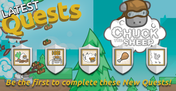 Chuck the Sheep Quests