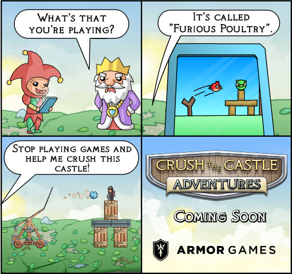crush the castle 3 armor games