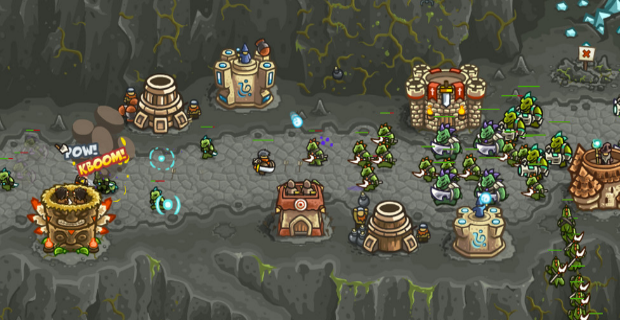 Kingdom Rush Frontiers-best tower defense games for free