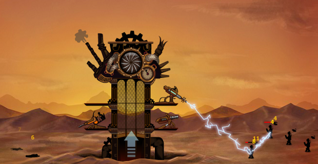 Steampunk Tower-best tower defense games for free