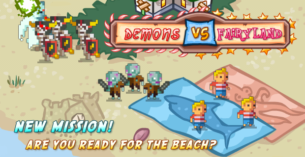 Demons vs Fairyland FREE on iPhone