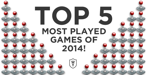 Most Played Games of 2014