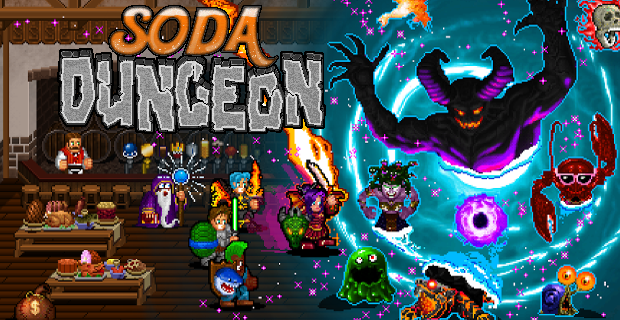 Soda Dungeon Now on Steam!