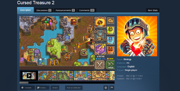 Cursed Treasure 2 Greenlight