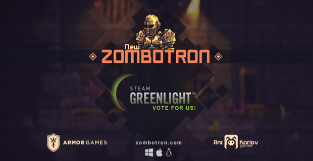 Zombotron on Steam Greenlight
