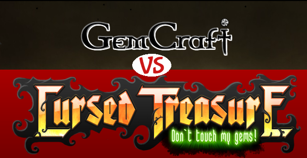 Gemcraft VS Cursed Treasure